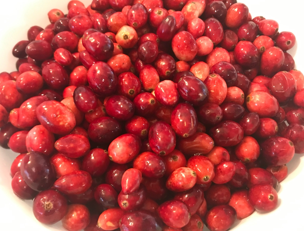 Cranberries fresh